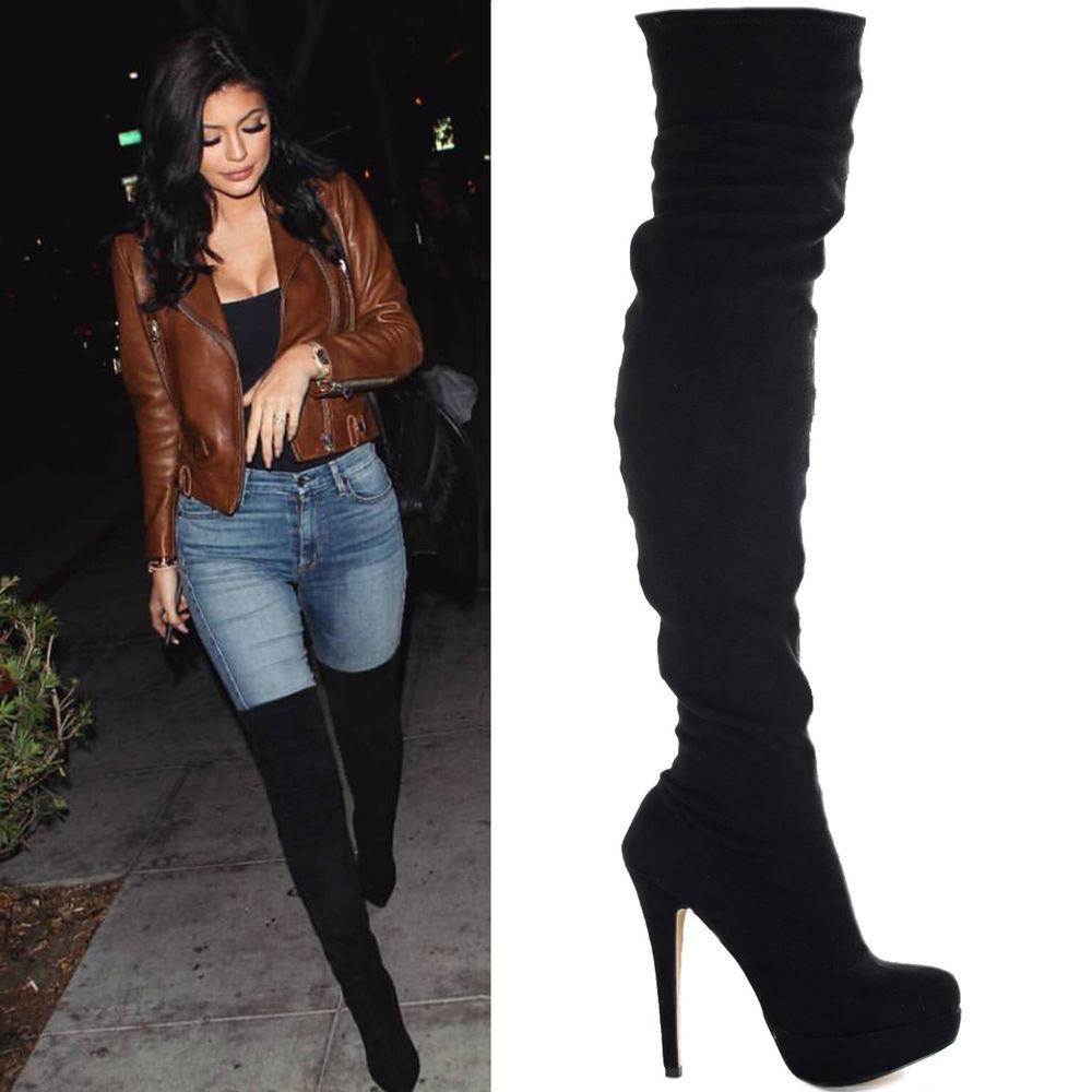 Knee High Boots Without Heel | Boot End