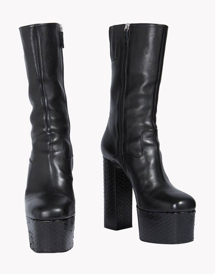 DSQUARED MENS PLATFORM BOOTS - For the