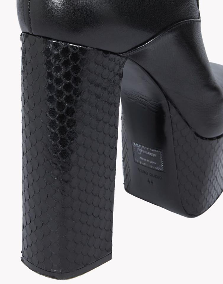 dsquared mens platform boots for the guys high heel place