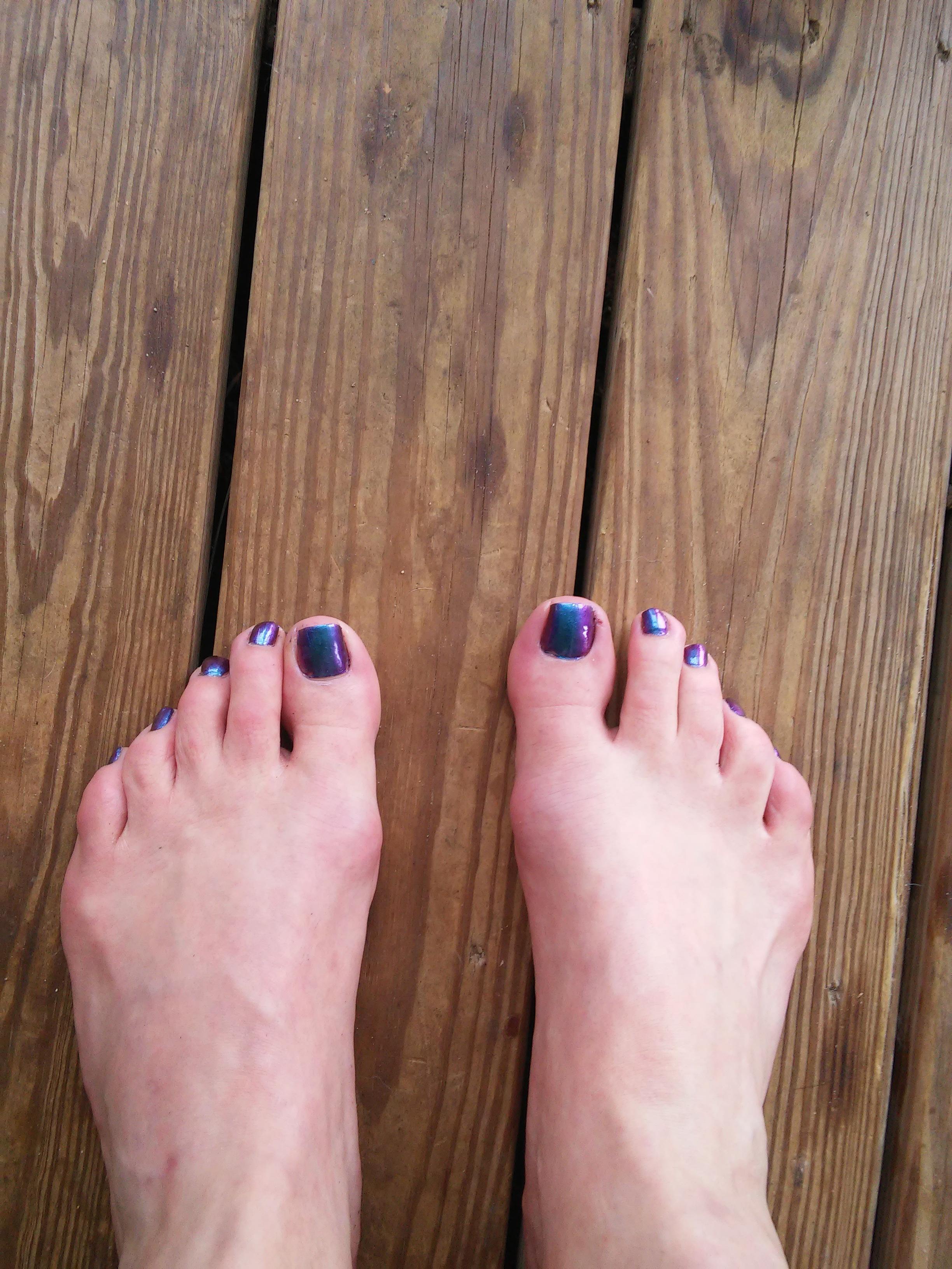 Do toenails their why paint guys Why Do