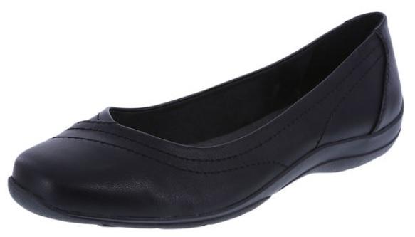 Payless Carla Snip Toe Flat black.jpg