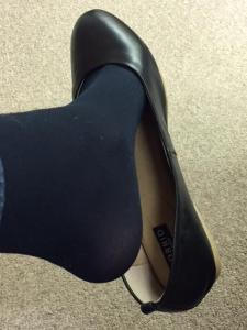 Torrid leather flats black 5.JPG